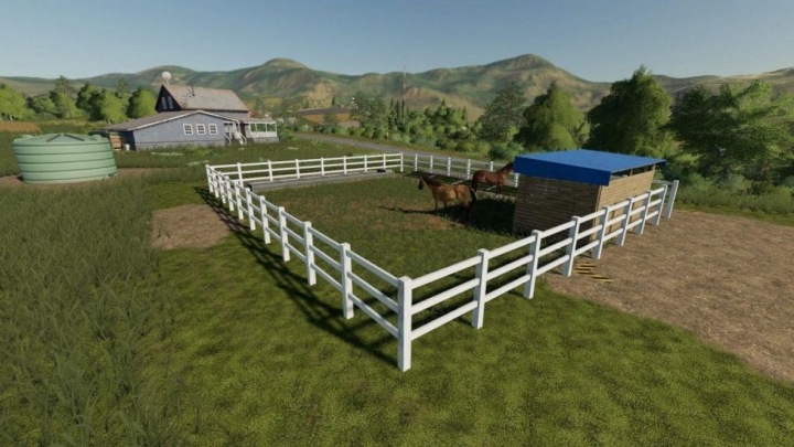 Trending mods today: FS19 SMALL HORSE PADDOCK V1.0.0.0
