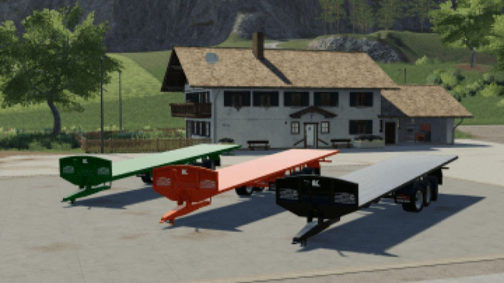 Trending mods today: FS19 Larrington 42 Foot Bale Trailer