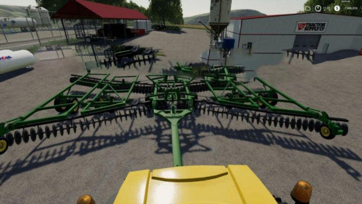 Trending mods today: FS19 JOHN DEERE 2623 50FT