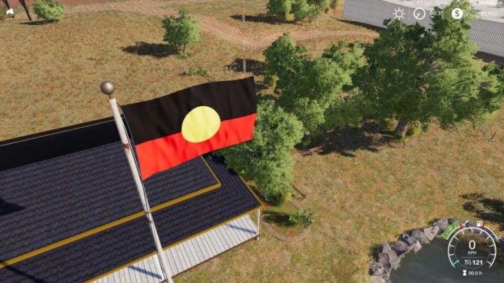 Trending mods today: FS19 Australian Aboriginal Flag v1.0.0.0