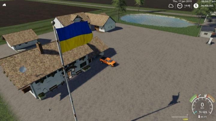 Trending mods today: FS19 Ukraine Flag v1.0.0.0