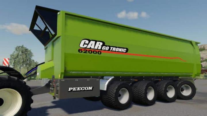 Trending mods today: FS19 Peecon Cargo 62000 v1.0.0.0