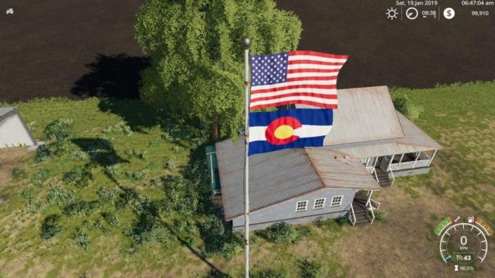 Trending mods today: FS19 USA above Colorado v1.0.0.0