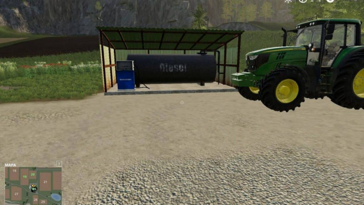 Trending mods today: FS19 FuelTank placeable v1.0