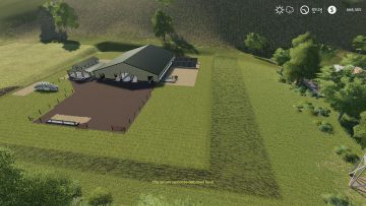 Trending mods today: FS19 Large American Cow Shed v1.0