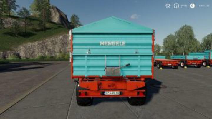 trailers FS19 Mengele MZDK