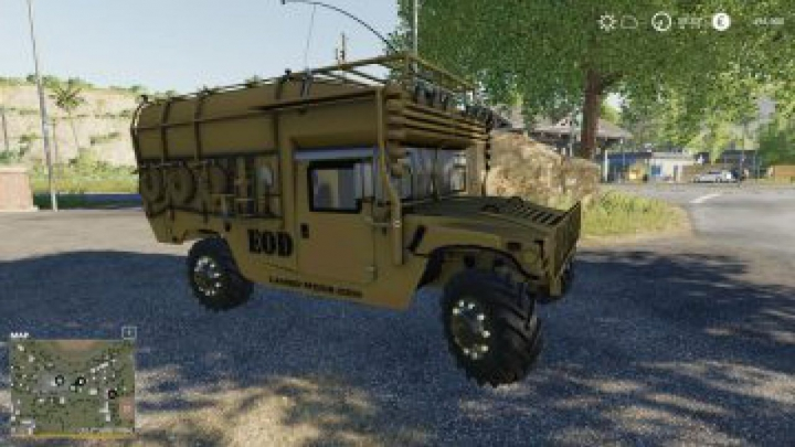 Trending mods today: FS19 Army humvee v1.0