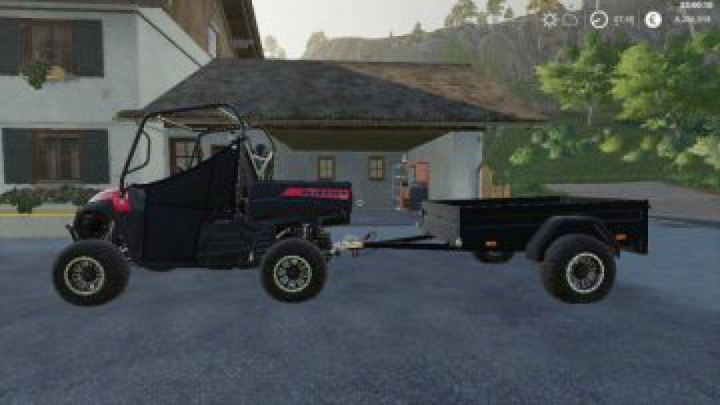 Trending mods today: FS19 Mahindra trailer