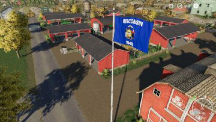 Trending mods today: FS19 Wisconsin Flag v1.0.0.0