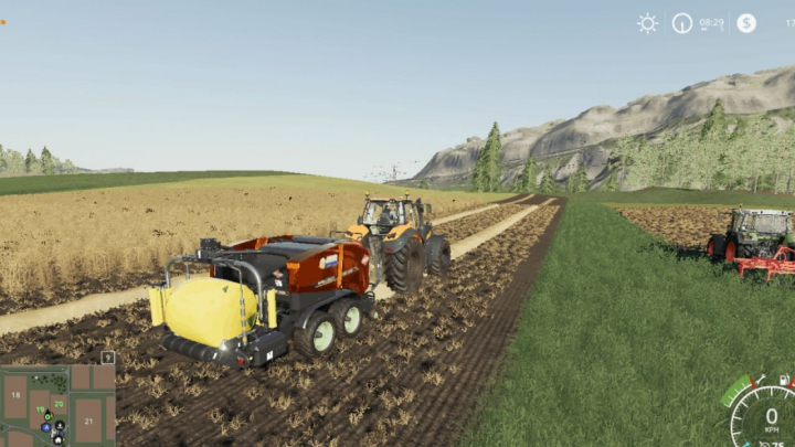 Trending mods today: FS19 Kuhn Straw Bale Wrap