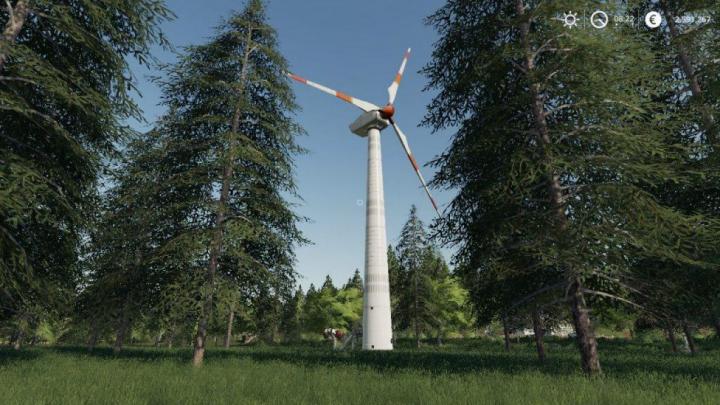 Trending mods today: FS19 Placeable wind turbine revenue generator