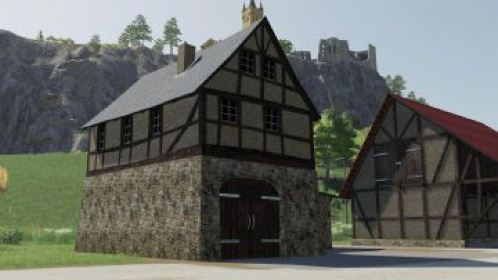 Trending mods today: FS19 Timberframe House With Shed v1.0.0.4