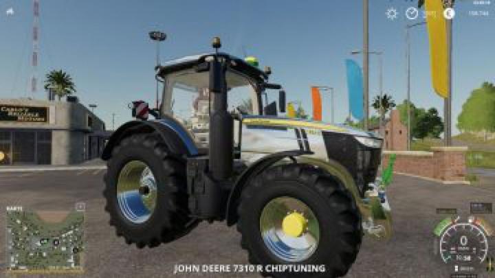 Trending mods today: FS19 John Deere 7R Chiptuning v1.2