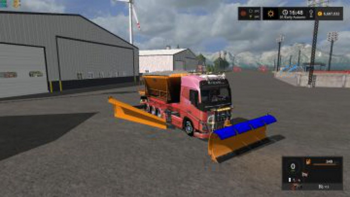 Trending mods today: FS17 Snow Truck with snowblades and sander v1.0