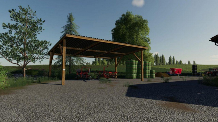 Trending mods today: FS19 Two barns v1.0.0.0