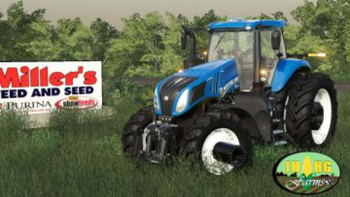 Trending mods today: FS19 New Holland T.8 Row Crop v1.0