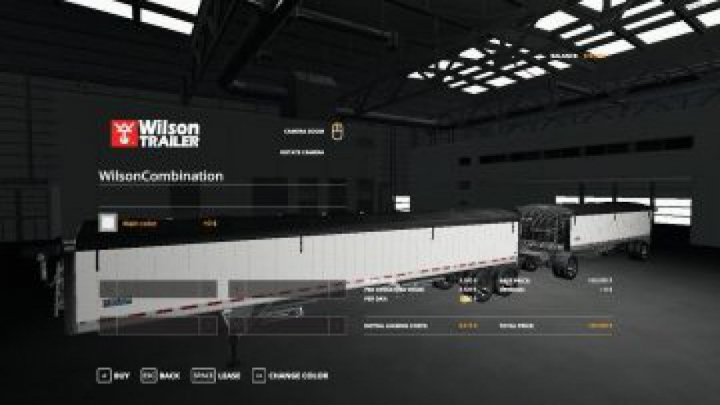 Trending mods today: FS19 Wilson Trailer and pup combination v1.0