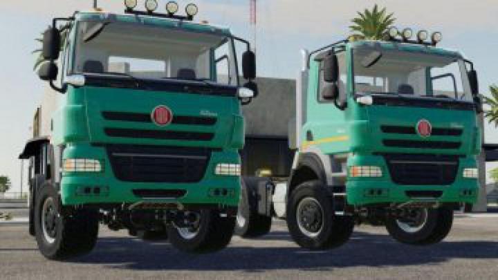 trucks FS19 Tatra Phoenix 6×6 v1.0.0.0