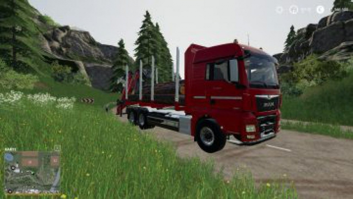 Trending mods today: FS19 MAN Forst LKW with Autoload Wood v2.0