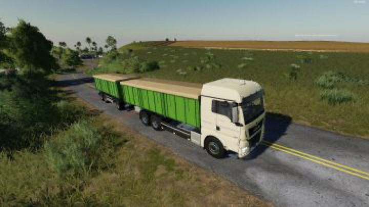 Trending mods today: FS19 Man Zernovoz v1.7