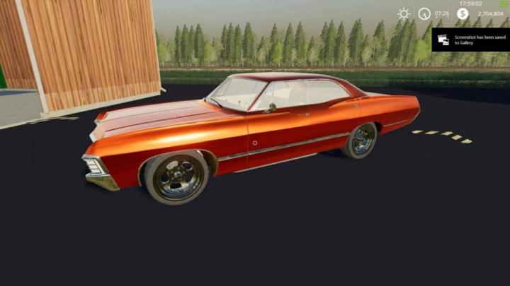 Trending mods today: FS19 Impala67 v1.0