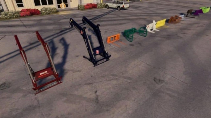 Trending mods today: FS19 FRONTLOADER TOOLS PACK