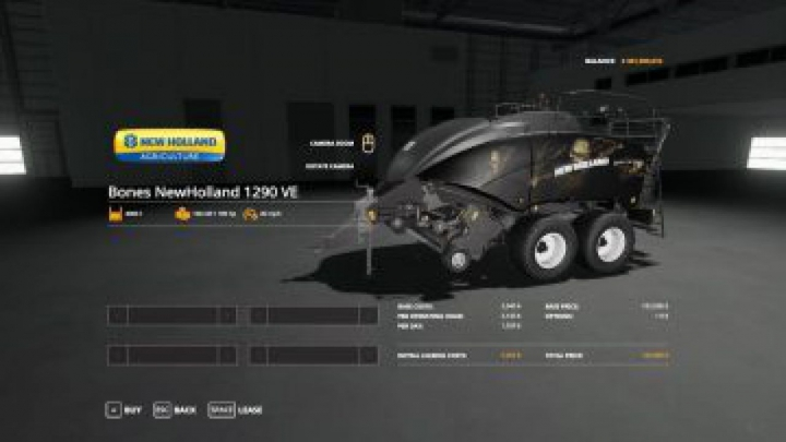 Trending mods today: FS19 Bones NewHolland 1290 VE v1.0