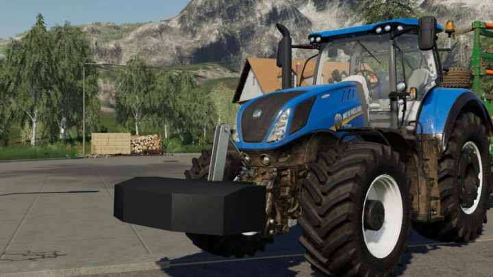 Trending mods today: FS19 New Holland Weight 800KG