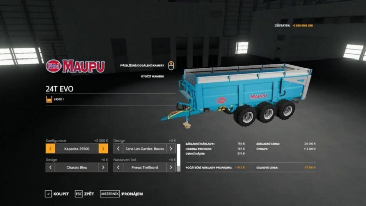 Trending mods today: FS19 Maupu 24T
