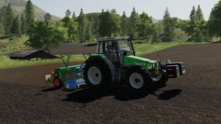tractors FS19 Deutz AgroStar Clear View v1.0.0.0