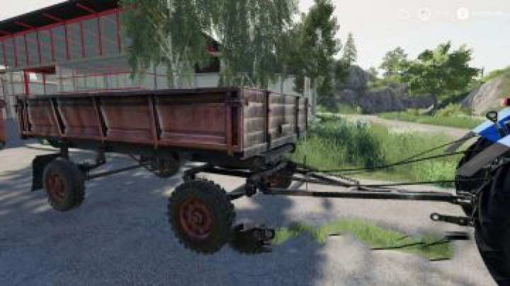 "trailers FS19 2PTS-4 ""Old"" Trailer v1.3"