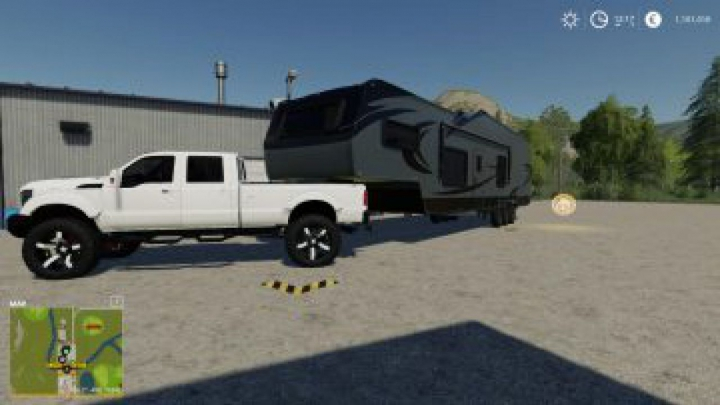 trailers FS19 GRIZZLY CREEK TOY HAULER V1.0