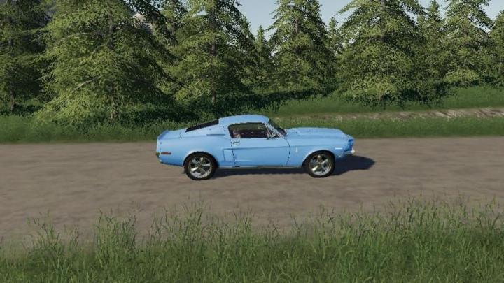 Trending mods today: FS19 1968 SHELBY GT500 V2.2