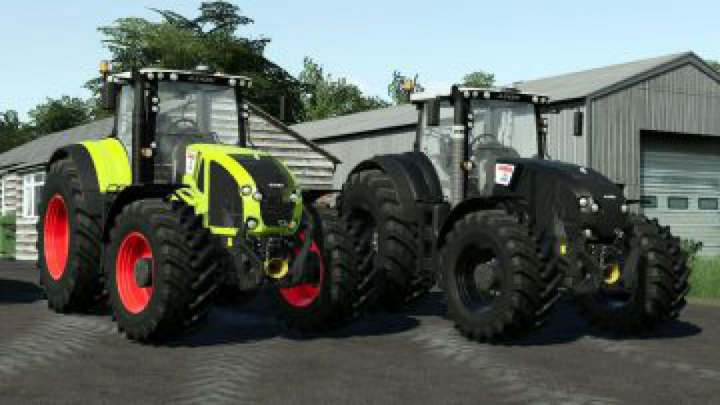 Trending mods today: FS19 Claas Axion 900 v1.1