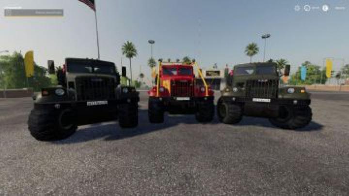 trucks FS19 Kraz 255B v1.4