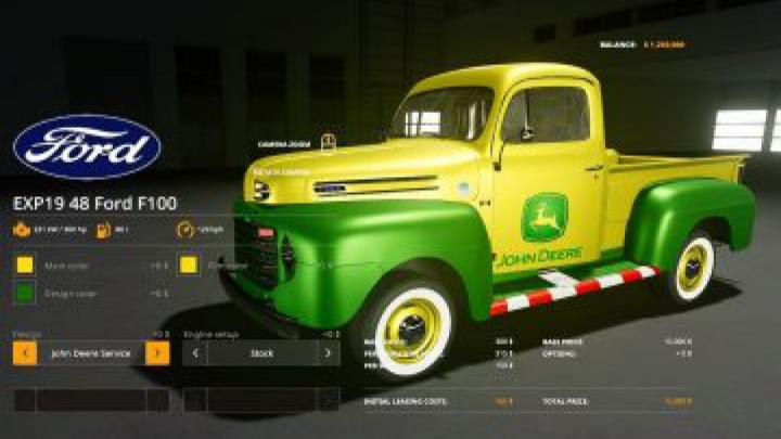 cars FS19 1948 Ford F100 service truck v1.0
