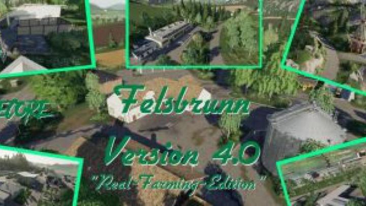Trending mods today: FS19 Felsbrunn v4.0 – Real Farming Edition