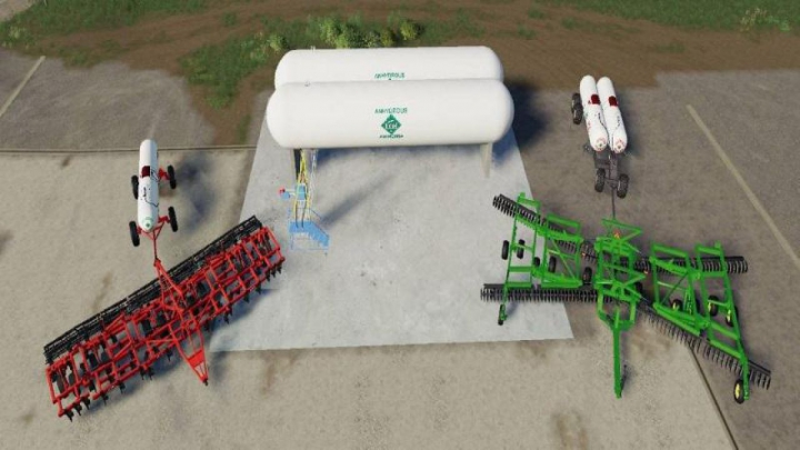 Trending mods today: FS19 Anhydrous Pack v1.0.0.0