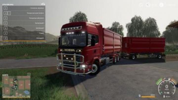 Trending mods today: FS19 Scania R730 HKL