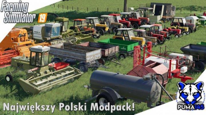 Trending mods today: FS19 MODPACK POLSKICH MASZYN