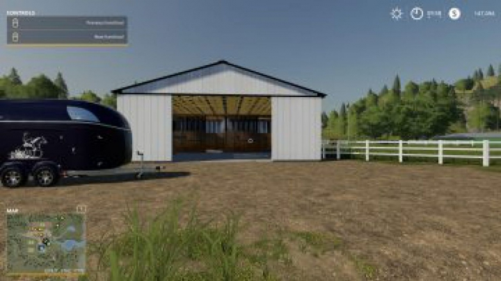 Trending mods today: FS19 Small American Stable v2.1.0