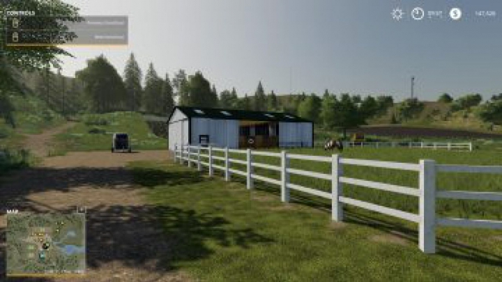 objects FS19 Small American Stable v2.1.0