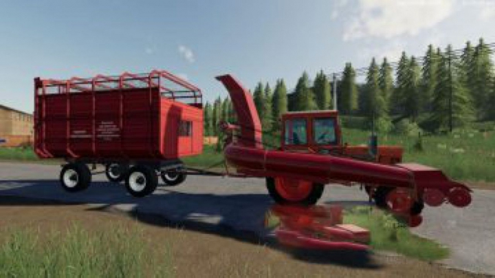 Trending mods today: FS19 Furazhipy and Air Force PTC v1.7