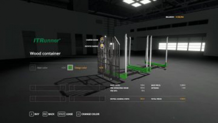 Trending mods today: FS19 Adjustable hooklift Wood Container v1.0.0.0