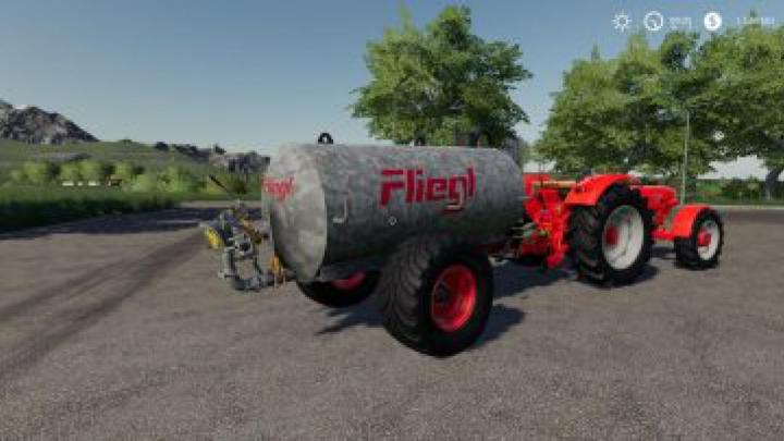 trailers FS19 Fliegl 5000 v1.0.0.0