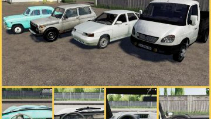 Trending mods today: FS19 Rus Autopark v1.0
