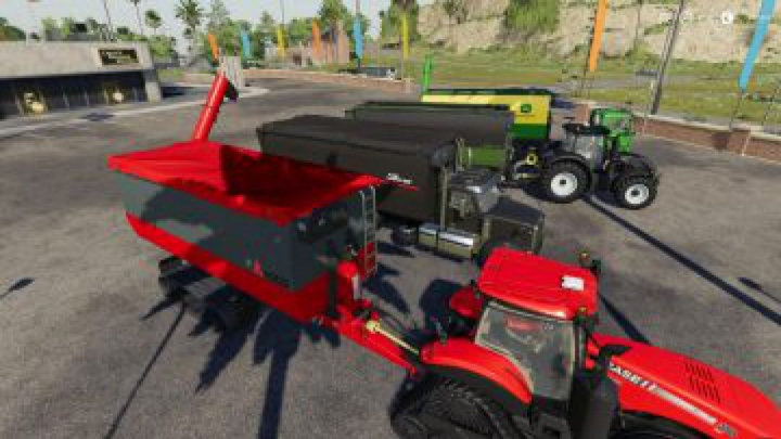 Trending mods today: FS19 Peecon hooklift Auger Container v1.0.0.0