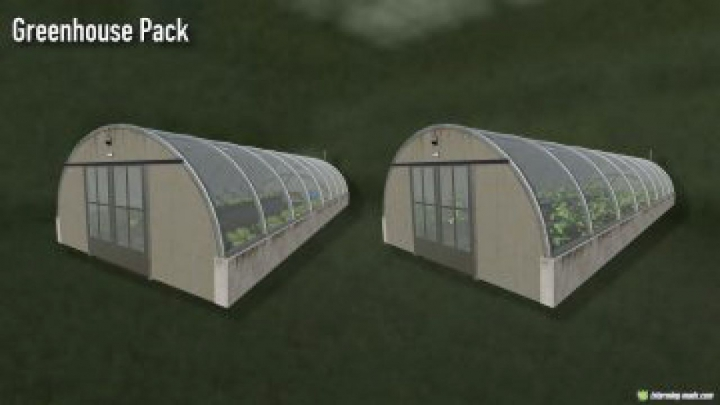 Trending mods today: FS19 Greenhouse Pack Placeable v1.0.0.0