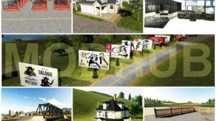 Trending mods today: FS19 PACK DECORATIVE OBJECTS v1.0