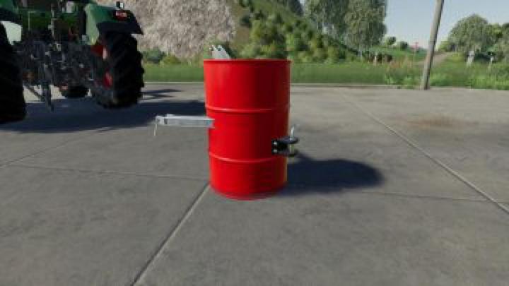 Trending mods today: FS19 Barrel Weight v1.0.0.0